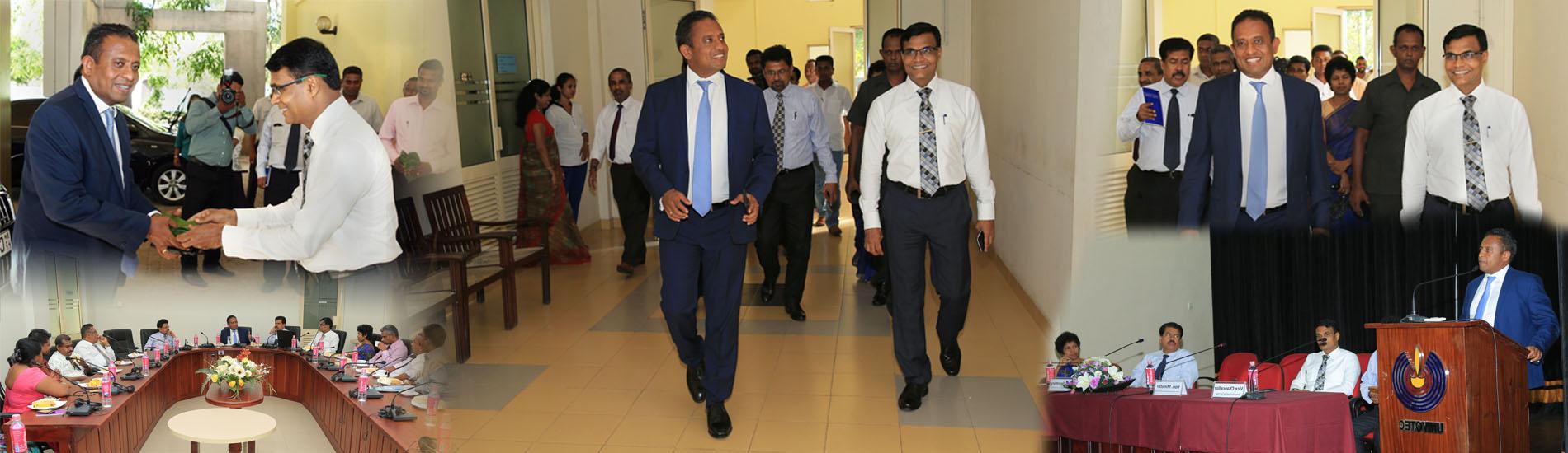 Minister's Visit of University of Vocational Technology